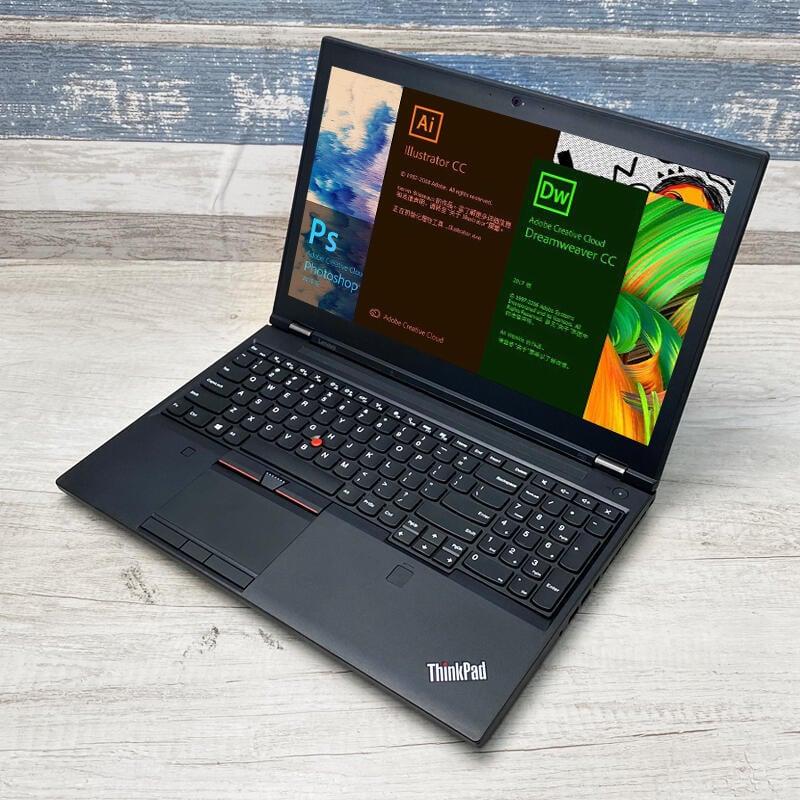 二手ThinkPad聯想P50 P51移動圖形工作站I7四核獨顯筆記本電腦P53