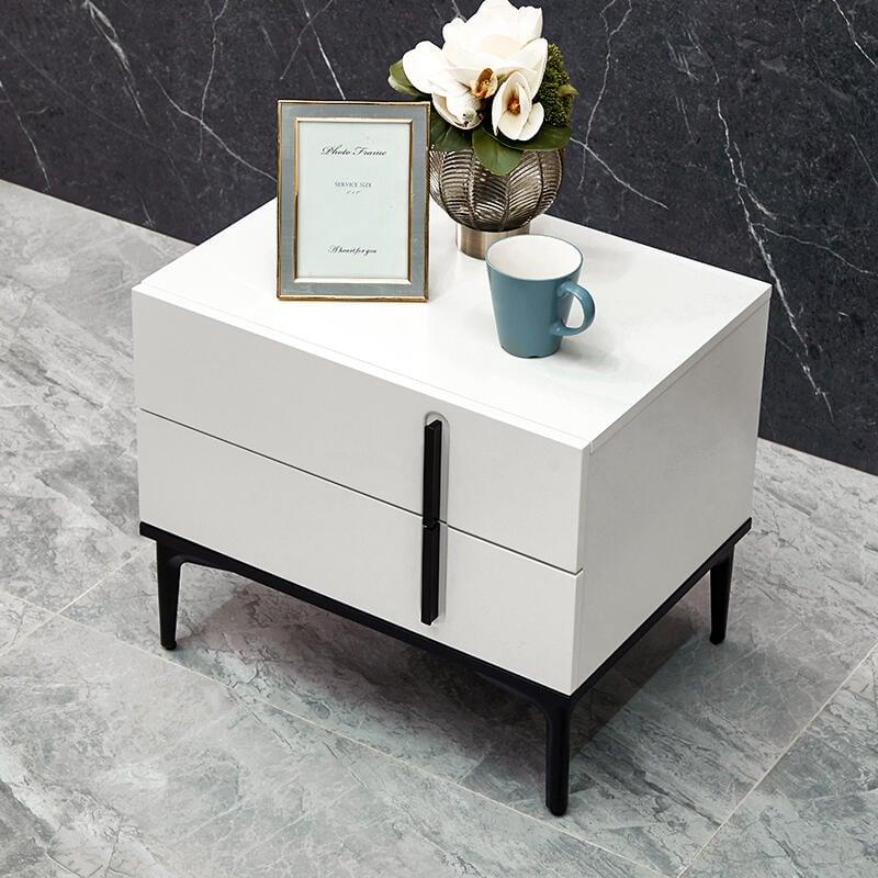 芝華仕頭等艙家用床頭柜簡約現代小型輕奢床邊柜迷你置物架g017F091621