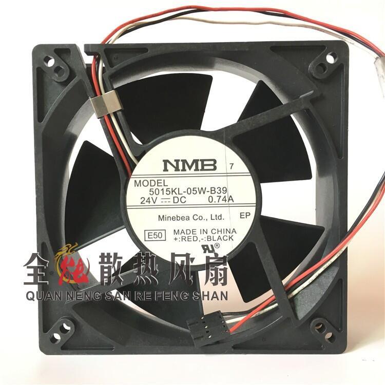 免運 5015KL-05W-B39 原裝日本NMB 機箱散熱風扇12738 24V 0.74A