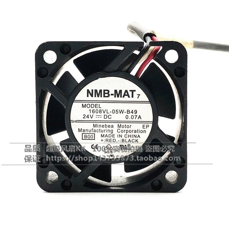 免運 A90L-0001-0551#A 1608VL-05W-B49 24V 原裝插頭髮那科系統風扇