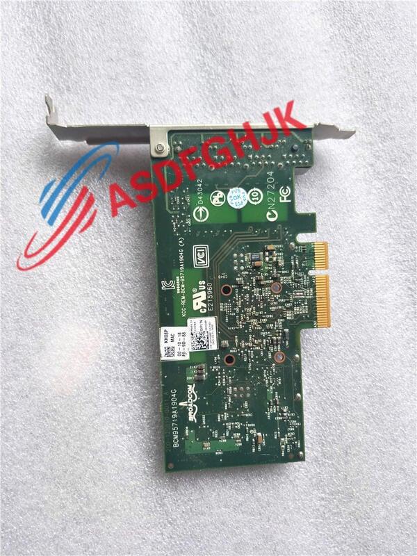 原裝Dell KH08P TMGR6 YGCV4 四端口千兆網卡BROADCOM BCM5719