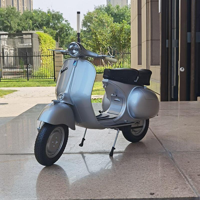 熱銷爆款1:3 比亞喬Piaggio Vespa GS 摩托車模型意大利小綿羊摩托車
