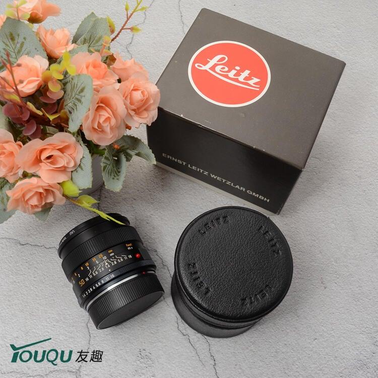 LEICA 徠卡R 50/1.4 50MM F1.4 50/2 F2 E60 ROM 單反手動鏡頭