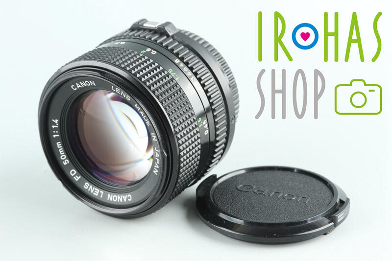 Canon/佳能FD 50mm F/1.4 單反鏡頭#27318