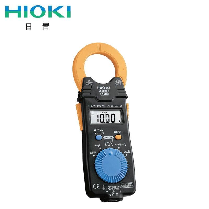 HIOKI日置鉗形表3280-10F CM3289交流直流電流表萬用表3288 3287