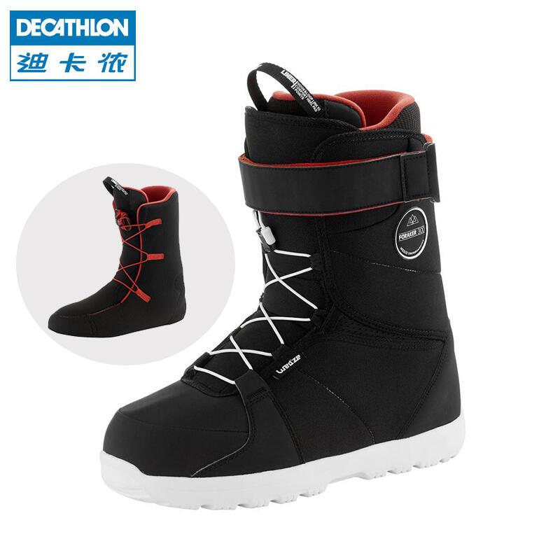 快速發貨迪卡儂戶外單板滑雪鞋男女男士單板雪靴滑雪裝備WEDZE3