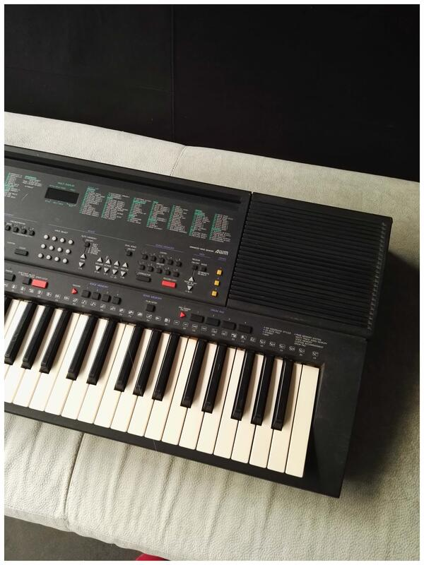 YAMAHA/PSR-400電子琴二手帶力度鍵盤電子琴原廠音質