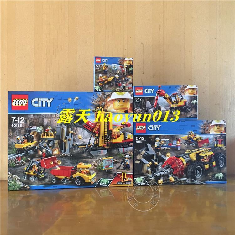 樂高 LEGO 60184 60185 60186 60188 城市采礦系列 采礦專家基地