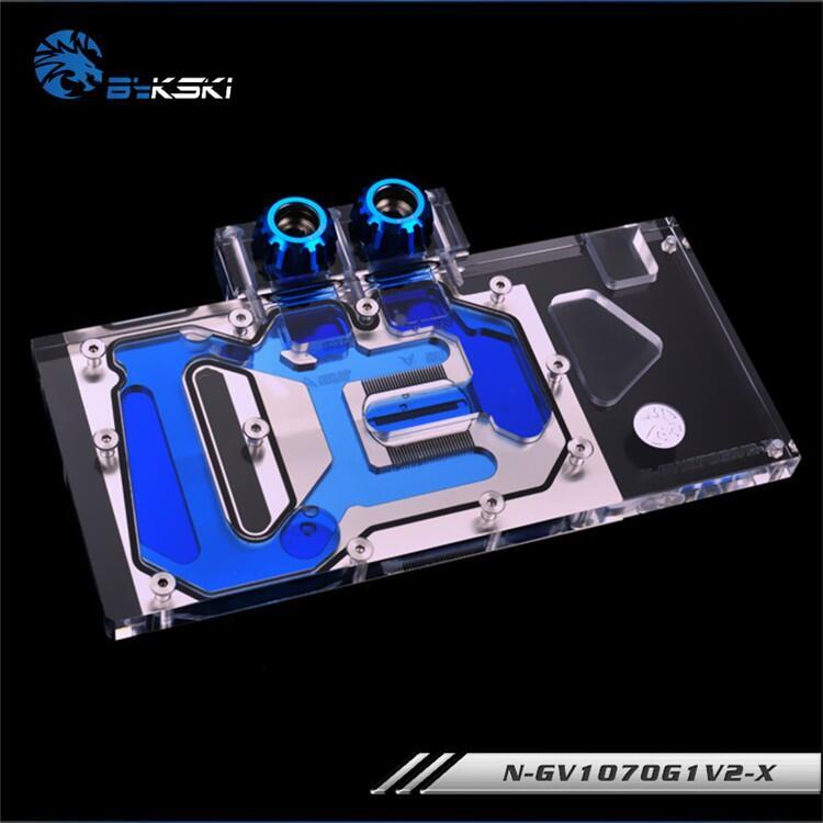 技嘉GTX1070TI-GAMING-8G / GV-N1070WF2OC-8GD的BYKSKI水冷塊使用
