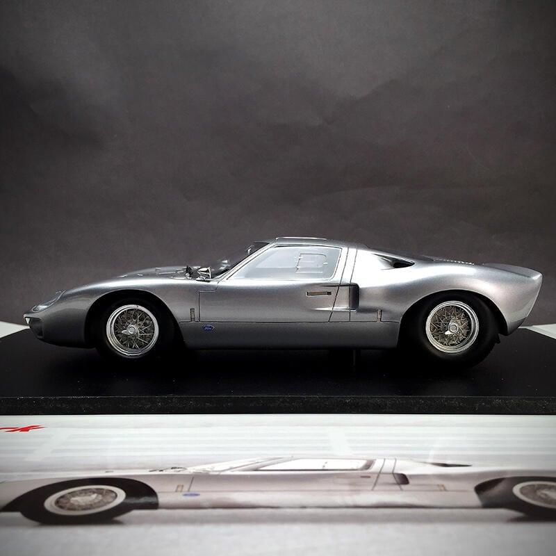 【★现货★】Spark1:18 福特 GT40 1966超跑賽車汽車模型高端成人收藏擺件