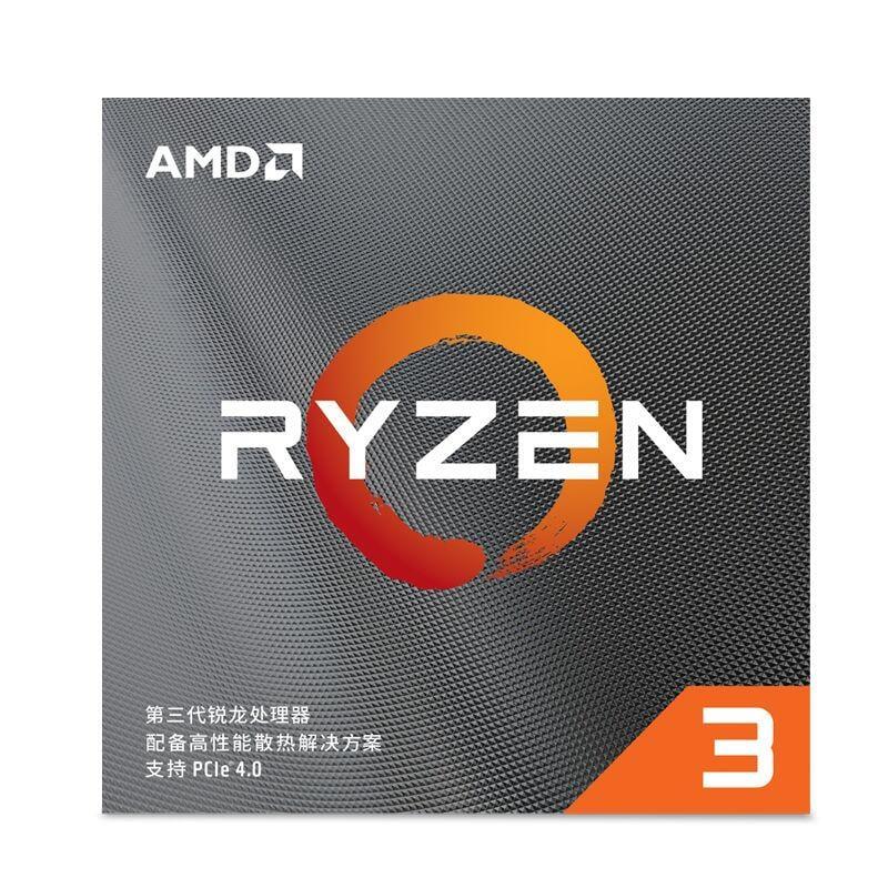 AMD 銳龍 R3 3100/3300X處理器臺式電腦主機CPU處理器3500X