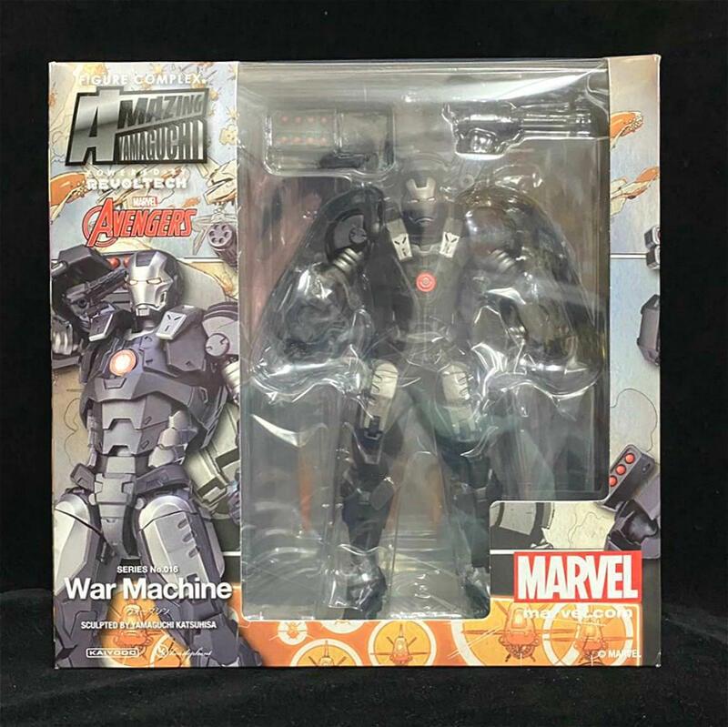【新品上市】海洋堂 山口式  鋼鐵俠 復仇者聯盟 War Machine 戰爭機器
