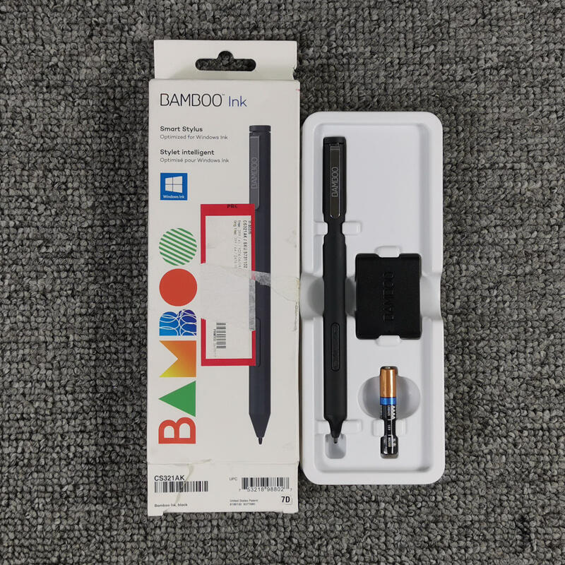 热卖★現貨WACOM微軟原裝BAMBOO INK手寫筆4096壓感CS321AK SURFACE CS321A