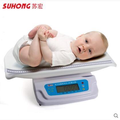 品質優發貨快+統編~正品蘇宏精準嬰兒秤寶寶秤新生嬰兒體重秤電子嬰兒稱身高體重秤