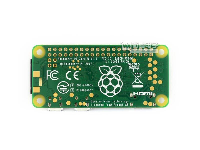 微雪樹莓派Zero W Raspberry Pi Zero W pi0 板載WiFi/