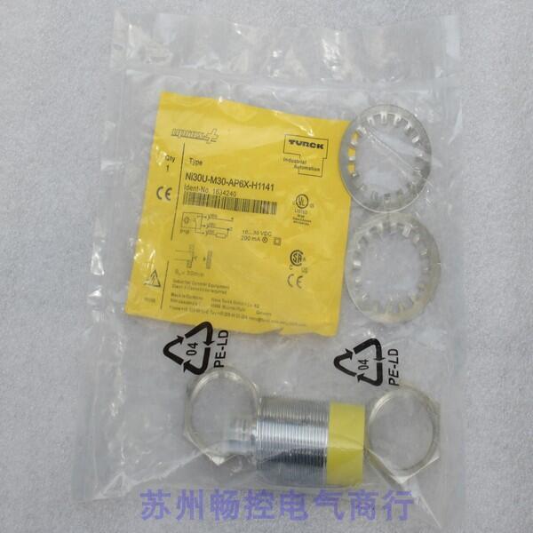 热卖*銷售*全新圖爾克TURCK傳感器Ni30U-M30-AP6X-H1141 現貨1634240