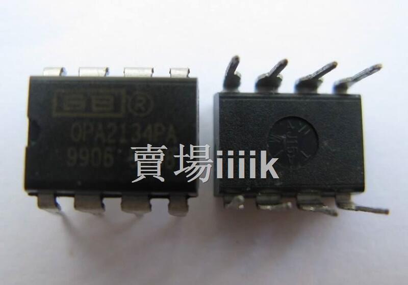 【優選+可開票】美國TI BB發燒OPA134PA直插單運放DIP8 音頻IC運算放大器全新原裝