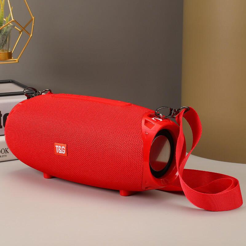 無線藍牙音箱戶外便攜式雙喇叭大音量車載超重低音炮家用插卡音響