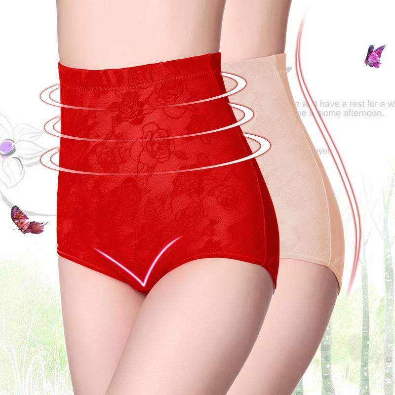 (可可精選)塑身褲夏高腰提臀大碼胖MM產后緊身收腹褲美體褲收復內褲女不卷邊