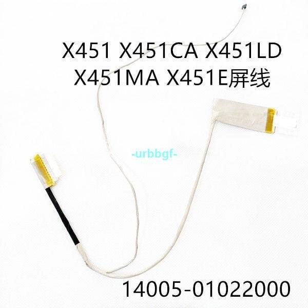 現貨原版華碩X451 X451CA X451LD X451MA X451E屏線 屏排線14005-01022000