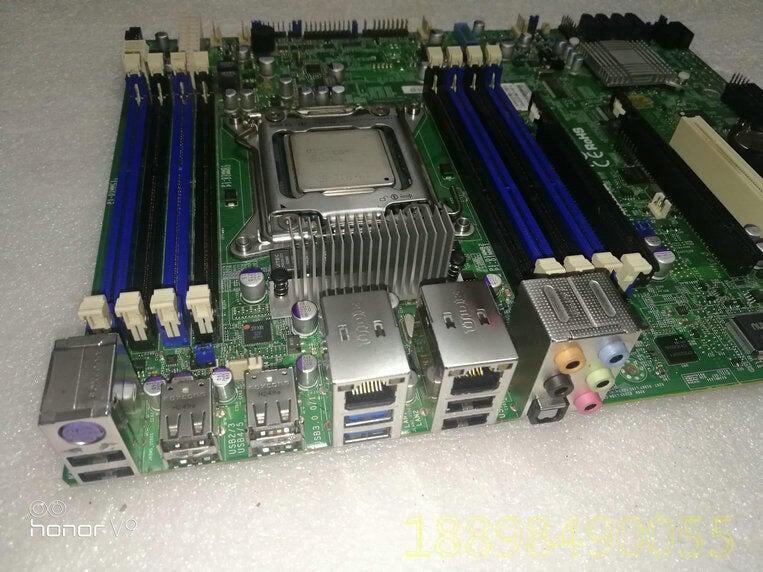 原裝超微 X9SRA LGA2011 X79 2011 單路工作站主板 支持2600V2