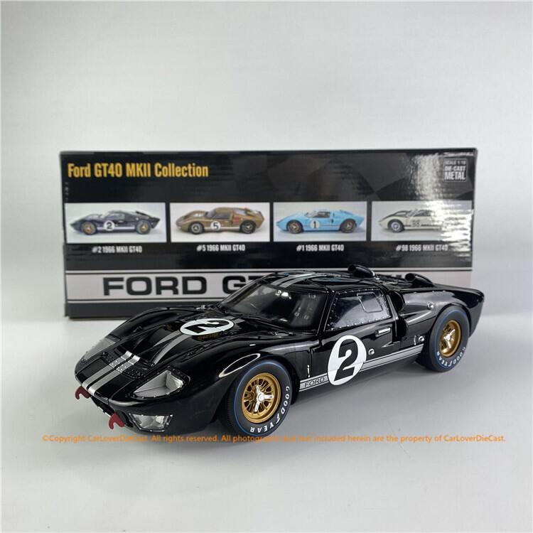 模型】沙沙汽車模型ACME 1:18 福特GT40 MKII from 1966合金全開收藏