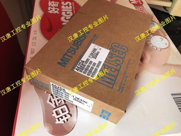 原裝全新正品三菱PLC模塊A62DA產地日本進口MITSUBISHI品質保證   美優品 可開發票