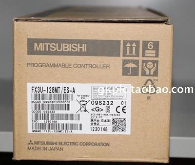 原裝全新正品三菱PLC模塊FX3U-128MTES-A日本MITSUBISHI質保一年   美優品 可開發票