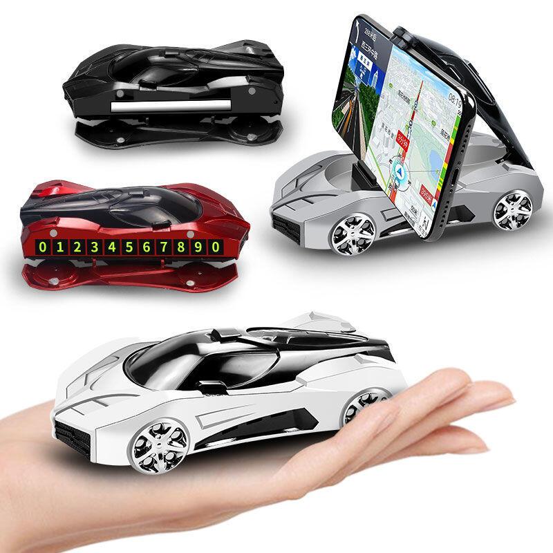 @W車載手機支架汽車導航架多功能吸盤式手機架車內儀表盤車模手機座
