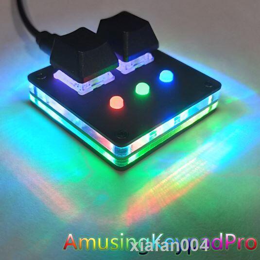 AmusingKeypad Pro osu Muse Dash迷你多媒體熱鍵音遊小鍵盤觸盤