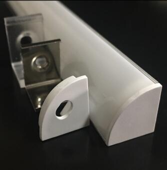 可定做LED鋁合金護欄燈管鋁材數碼單色七彩輪廓廣告框燈管鋁材