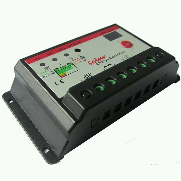 全新器件,太陽能控制器12V 24v 10A 20A雙數碼管顯示LED
