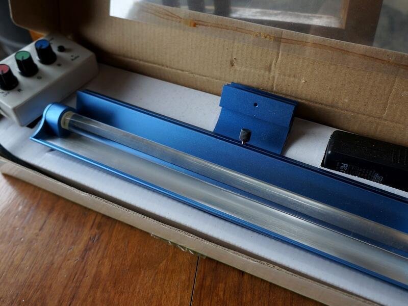 零件庫存全鋁合金外殼三基色LED魚缸燈帶電源