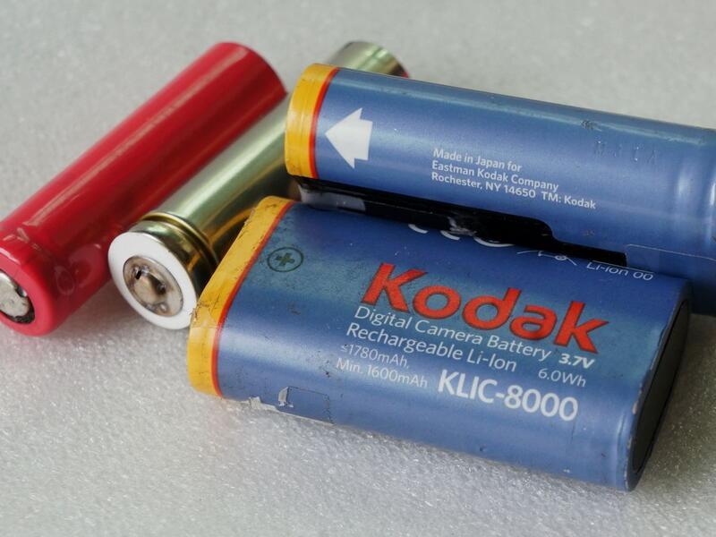 零件柯達KLIC-8000 原裝電池三洋14500電芯