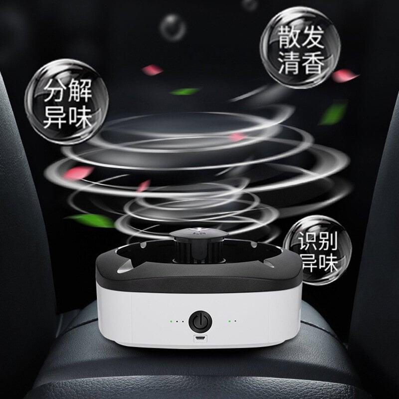 空氣凈化器智能空氣凈化器煙灰缸家用客廳辦公室車載吸灰防煙防灰