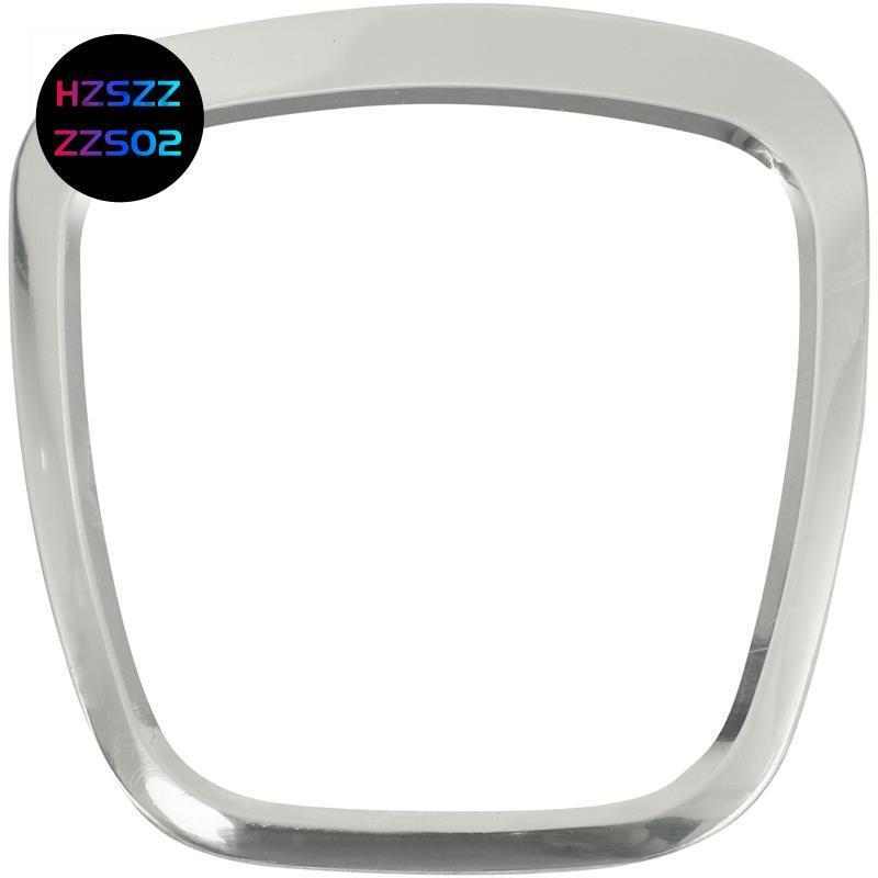 汽車方向盤飾件車身標誌裝飾框亮片貼紙配件適用於A3 A4L A5 A6L A8L Q5 Q7汽車配件