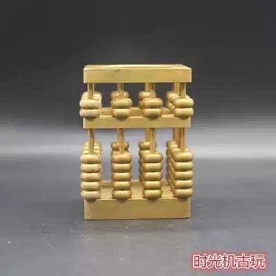 【金牌】古玩雜項收藏仿古文房四寶筆筒筆擱擺件四角筆筒算盤特價促銷